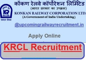 Konkan Railway Recruitment 2017-2018| Latest KRCL Jobs, krcl recruitment 2017, krcl, Konkan Railway Corporation Limited jobs, konkan railway, railway jobs 2017